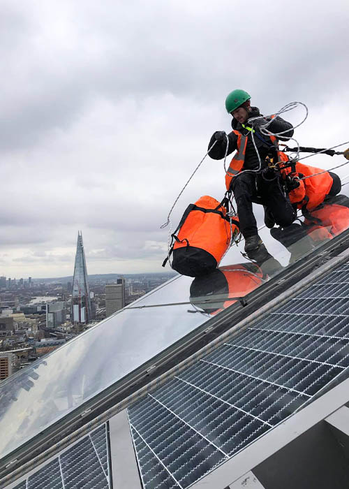 Dynamic Access Commercial Glazing Services Industrial Abseiling JPG 002